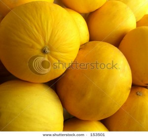 Photos of Orange Honeydew Melon