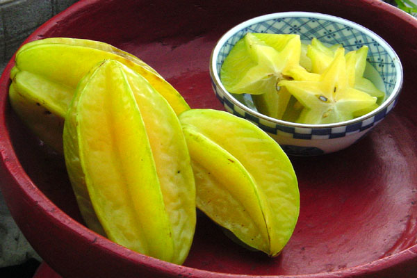 Pictures of Star Fruit