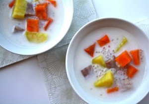 Chinese Yam Pudding Photo