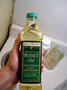 Pictures of Peanut Oil