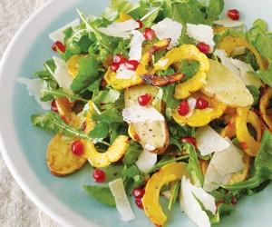 Delicata Squash Salad
