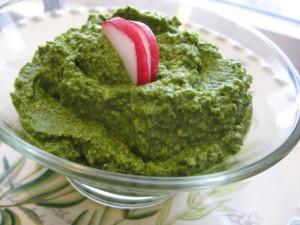 Radish Green Recipe