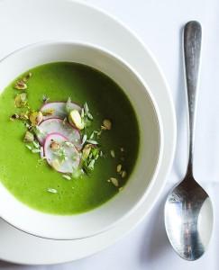 Radish Green Soup