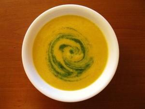 Crookneck Squash Soup