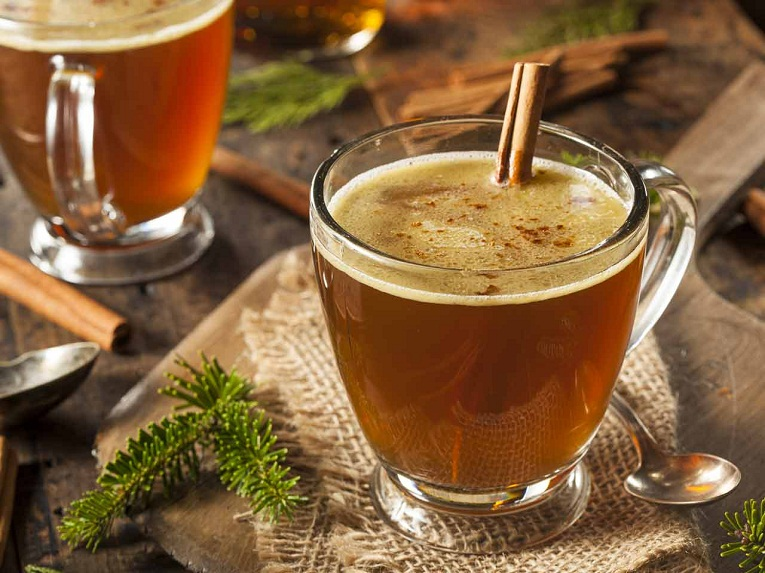 Hot Gin Toddy Drink Recipe